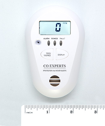 Tecnical specifications carbon monoxide monitor Model 2016